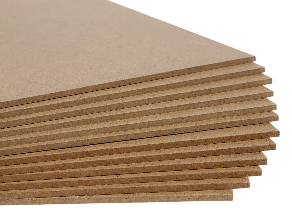 Jack Richeson Medium Density Untempered Hardboard(12 pack) ,  16x20
