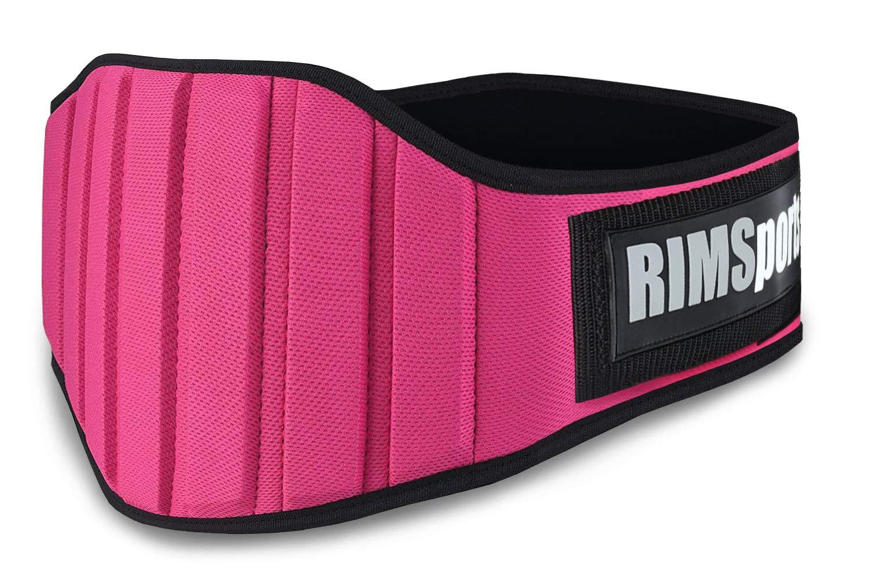 RIMSports Weight Lifting Belt Best Lifting Belt for Weightlifting- Ideal Weight Belt for Men Women – Premium Powerlifting Belt