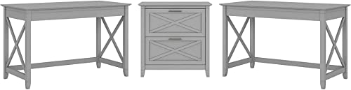 Editors' Choice: Bush Furniture Key West 2 Person Desk Set