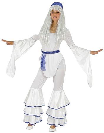 Foxxeo 40070 70er Jahre Disco Kostum Fur Damen Karneval Fasching