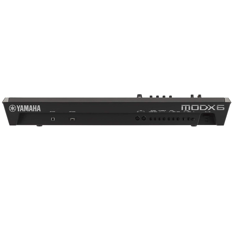 with Double braced Keyboard Stand Yamaha MODX6 61-Key Synthesizer
