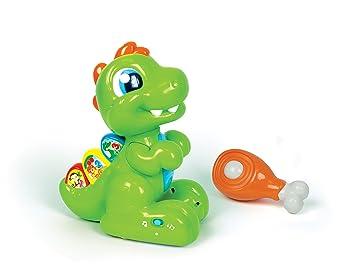 Baby Clementoni - Dientecito el Dinosaurio, Juguete para bebé (550500)