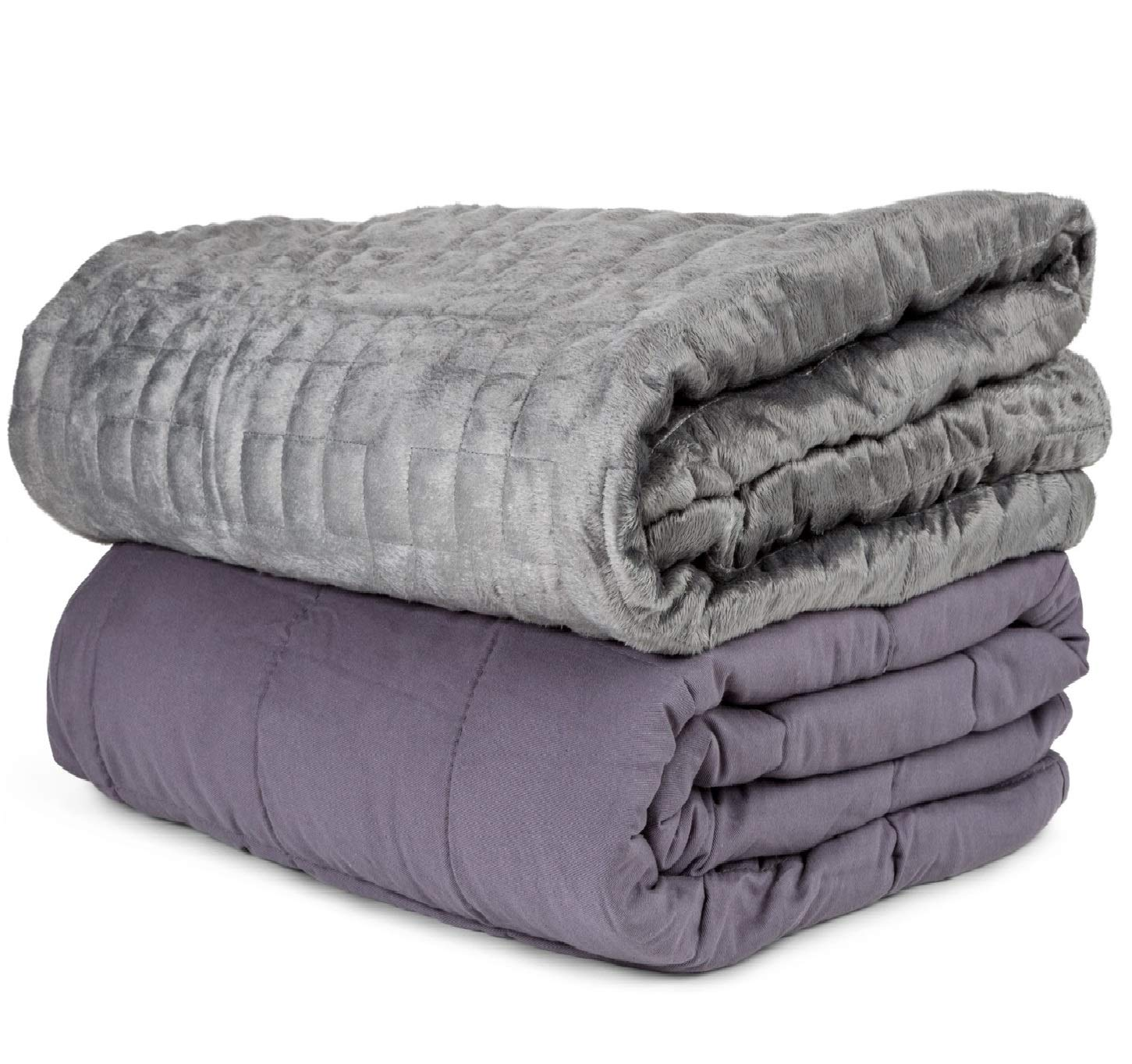 aviano 20lbs weighted blanket 100 cotton with plush microfiber duvet cover 659193182651 ebay. Black Bedroom Furniture Sets. Home Design Ideas
