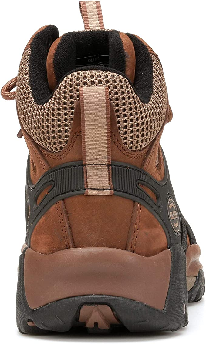Oliver by Honeywell OL11115-BRN-075 Oliver Leather /& Mesh Industrial Mens Steel Toe