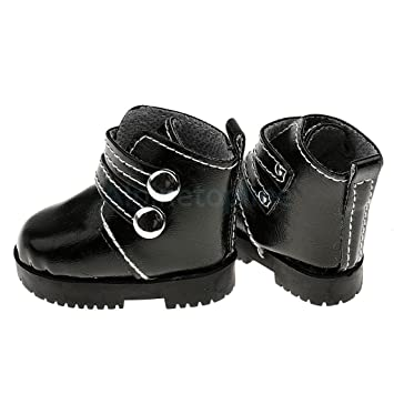 ba92f8056ab Amazon.com: Fashion Ankle Shoes Punk Martin Boots for 1/3 1/4 BJD SD ...