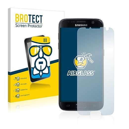 33 opinioni per BROTECT AirGlass Pellicola Vetro Flessibile Chiaro per Samsung Galaxy S7 Edge