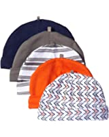 Yoga Sprout Baby Boys' 5-Pack Caps
