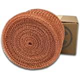 """Coldbreak MESH100 Copper Mesh, 5"""" x 100', Pure 100%, USA Made"""