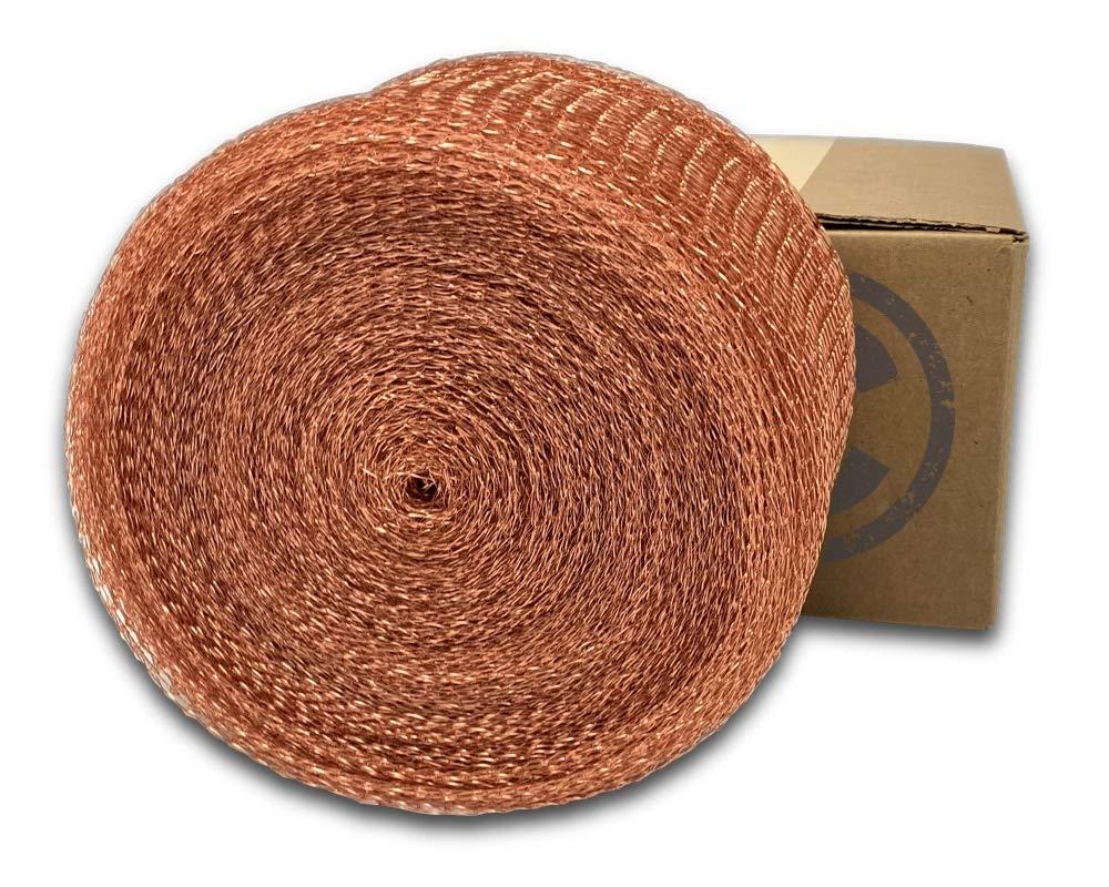 COLDBREAK MESH100 Mesh, 5'' x 100', Pure 100% Copper, USA Made