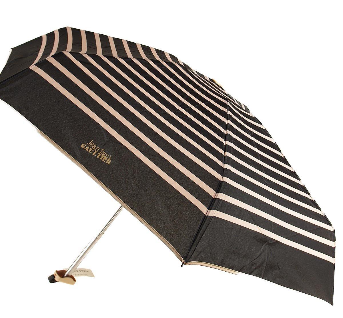 Parapluies Jean-Paul Gaultier - Paraguas plegable amarillento micro rayas: Amazon.es: Equipaje