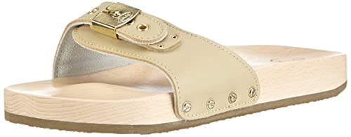 26f5c422263df1 Scholl Adults  Pescura Flat Sand Clogs  Amazon.co.uk  Shoes   Bags
