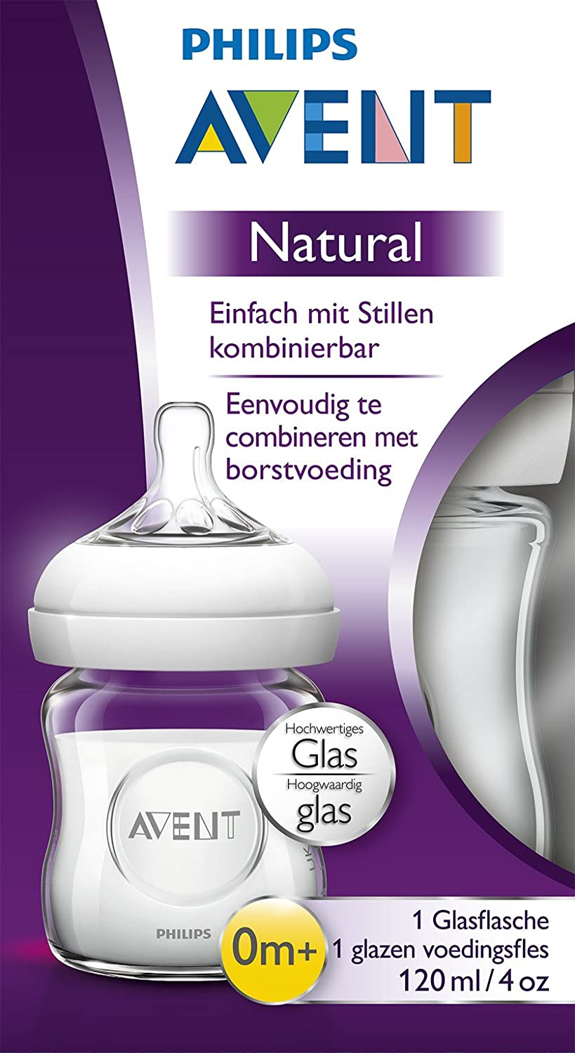Philips AVENT Life-Like Glass Bottle Clear