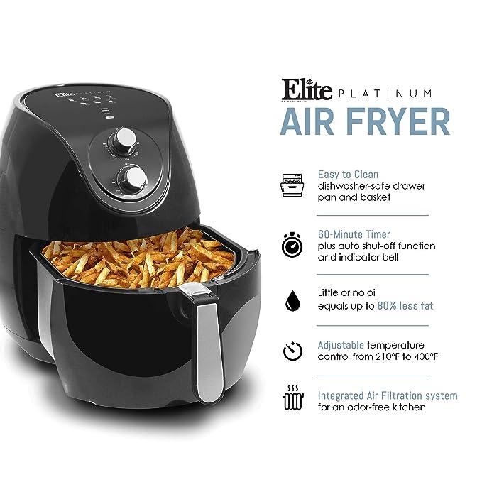 elite platinum air fryer