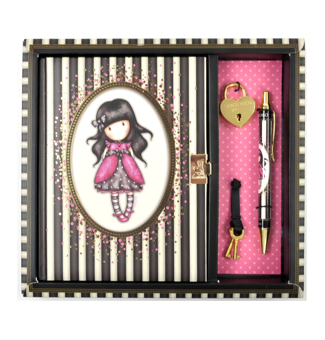 Gorjuss Ladybird Lockable Notebook Set
