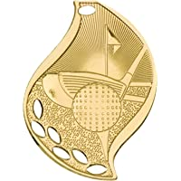 Trophy Cruch Medalla y Cinta de Golf Personalizada, Serie de lámparas
