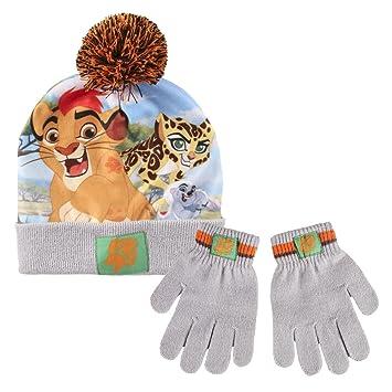 e5735f86 Disney 2200001865 Lion Guard-Children's Winter Set Includes Beanie Bobble  Hat and Gloves, Unisex-Child, Grey (Gris 001), One Size: Amazon.co.uk: Toys  & ...
