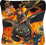 Dragons DreamWorks Toothless with Hiccup - Pillow