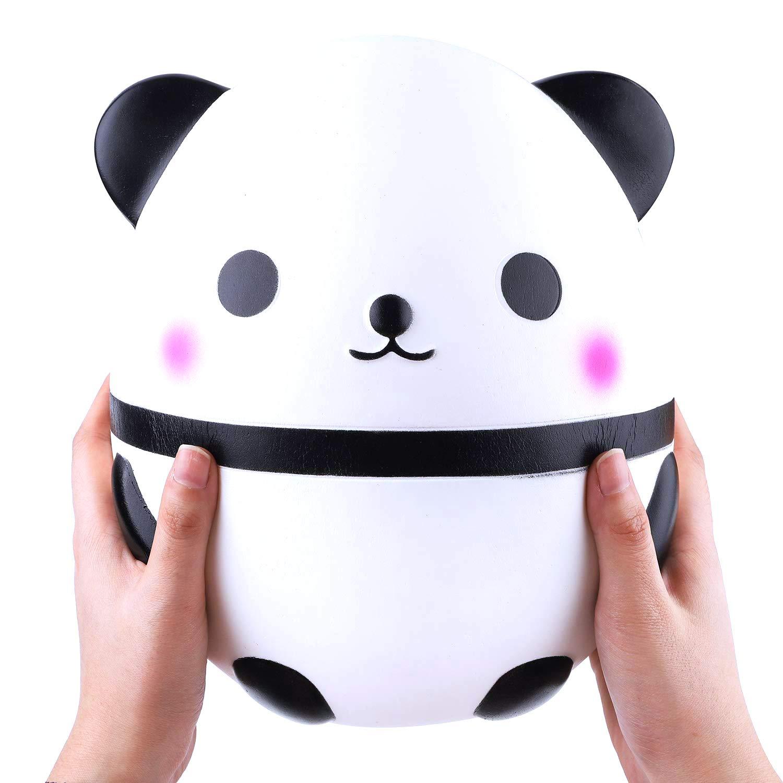 MiniMochi Jumbo Squishy Grandes Kawaii Squishy Panda Gigante Slow Rising Squishy Kawaii Juguetes Antiestr/és Ni/ños Adultos