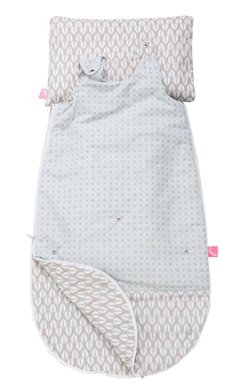 Motherhood 3 in 1 Babyschlafsack mit Kopfkissen und Kissenbezug Bäume Rosa B06Y2GVS27 Schlafscke