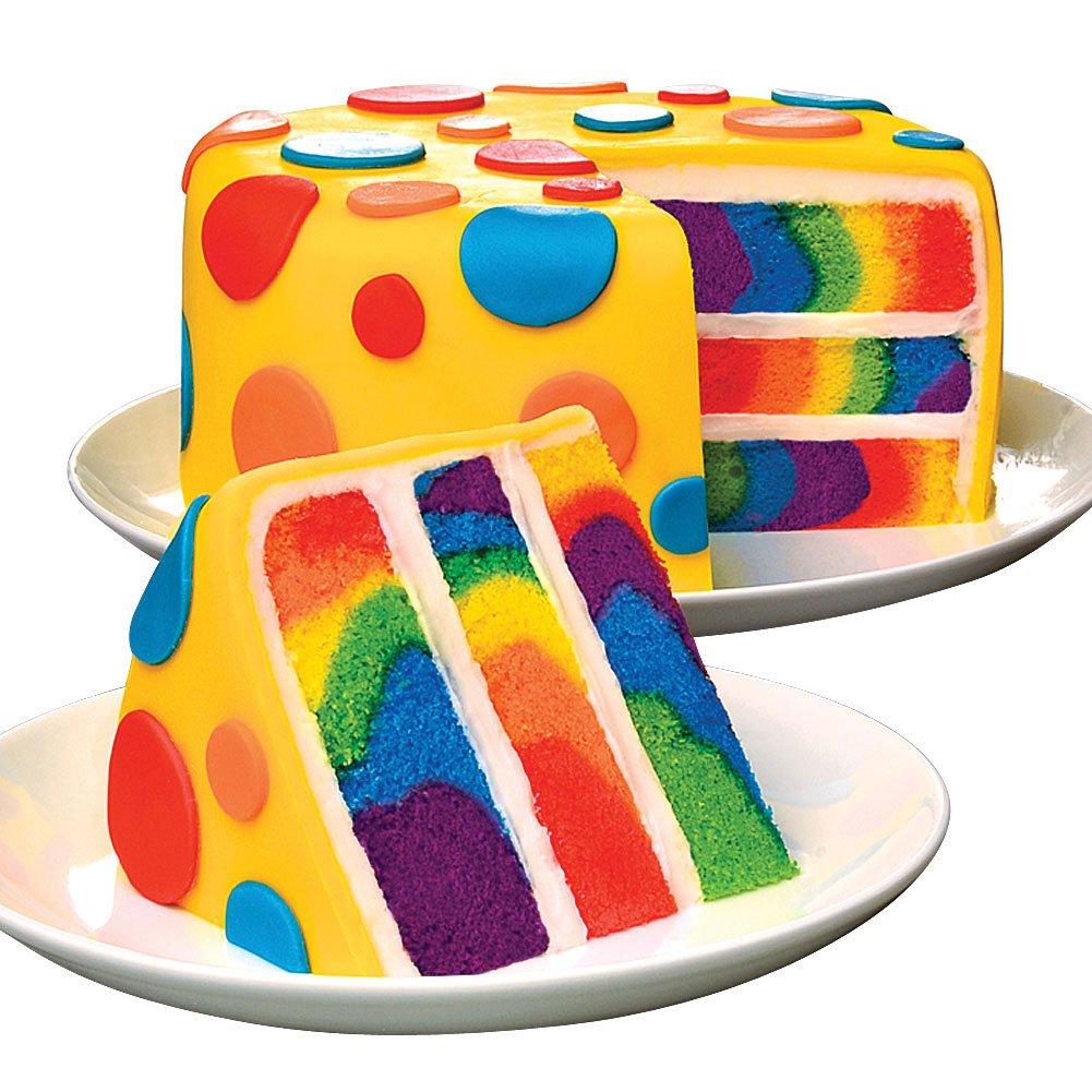 Amazon.com : Duff Cake Mix - Tie Dye : Rainbow Tye Dye Cake Mix ...