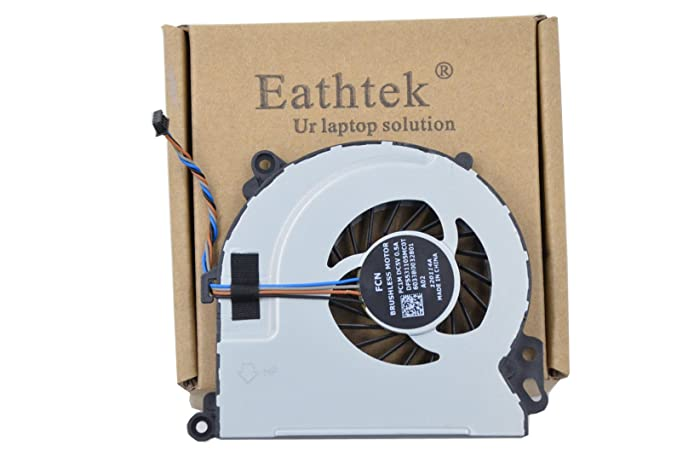 Eathtek Replacement CPU Cooling Fan for HP Envy 15T 15 Touchsmart Envy 17 Series, Compatible Part Number 6033B0032801 720235-001 720539-001