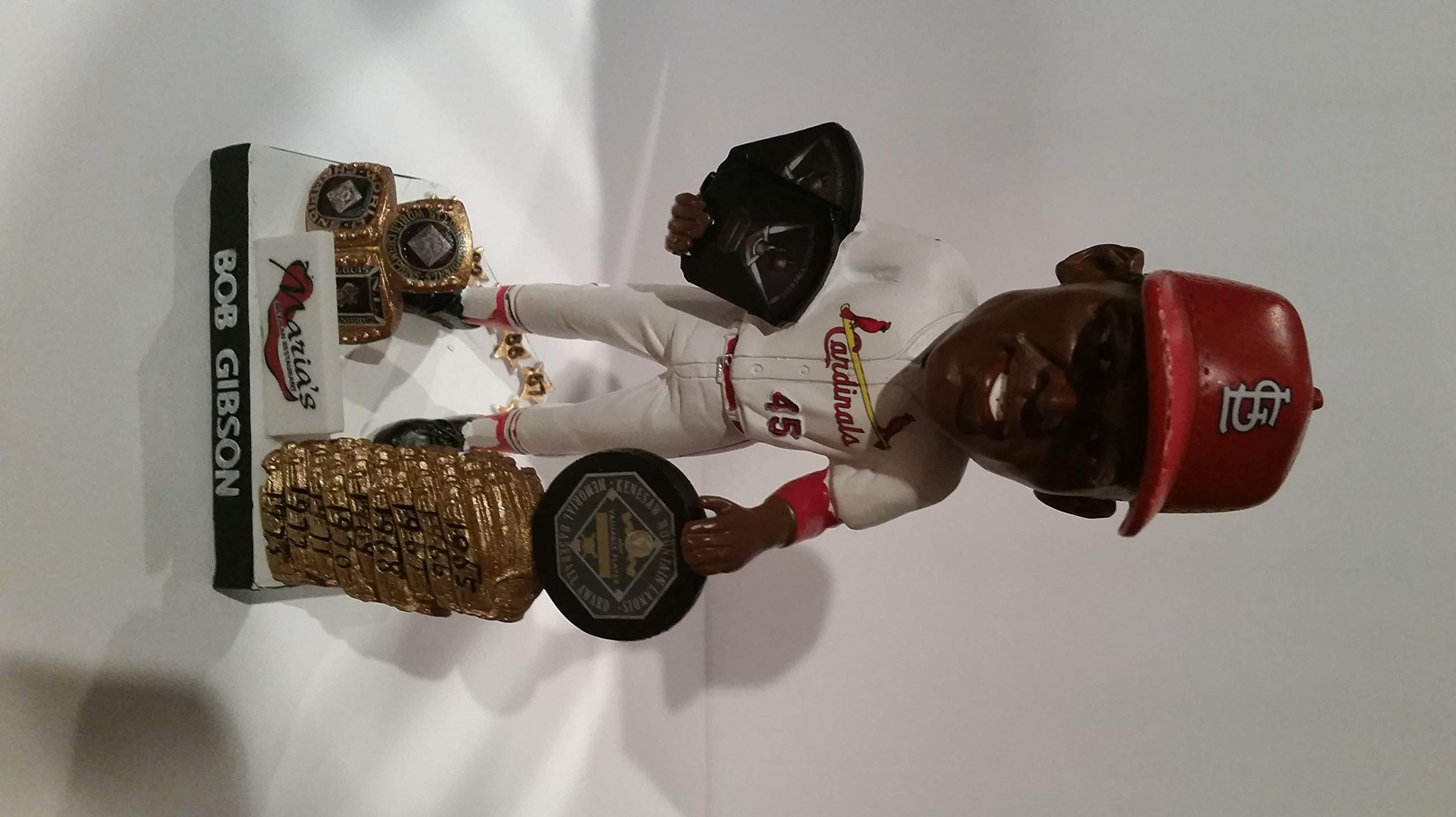 BOB GIBSON BOBBLE HEAD ST. LOUIS CARDINALS AWESOME LOOKING