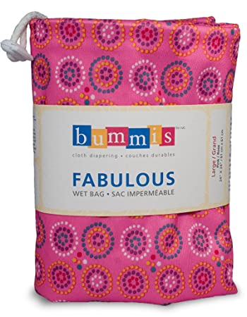 Amazon.com: Bummis Fabulous Wet pañal Bolsa, L, Rosado: Baby