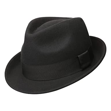c33c0e896f940 Sedancasesa Mens Felt Fedora Hat Unisex Classic Manhattan Indiana Jones Hats  (M