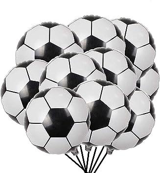 ETCBUYS Foil Balloon Soccer - Decoración de Fiesta de cumpleaños ...