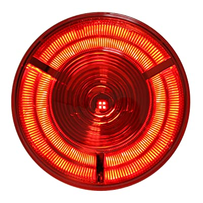 "Grand General 74880 Red 4"" Prime LED Sealed Light: Automotive"