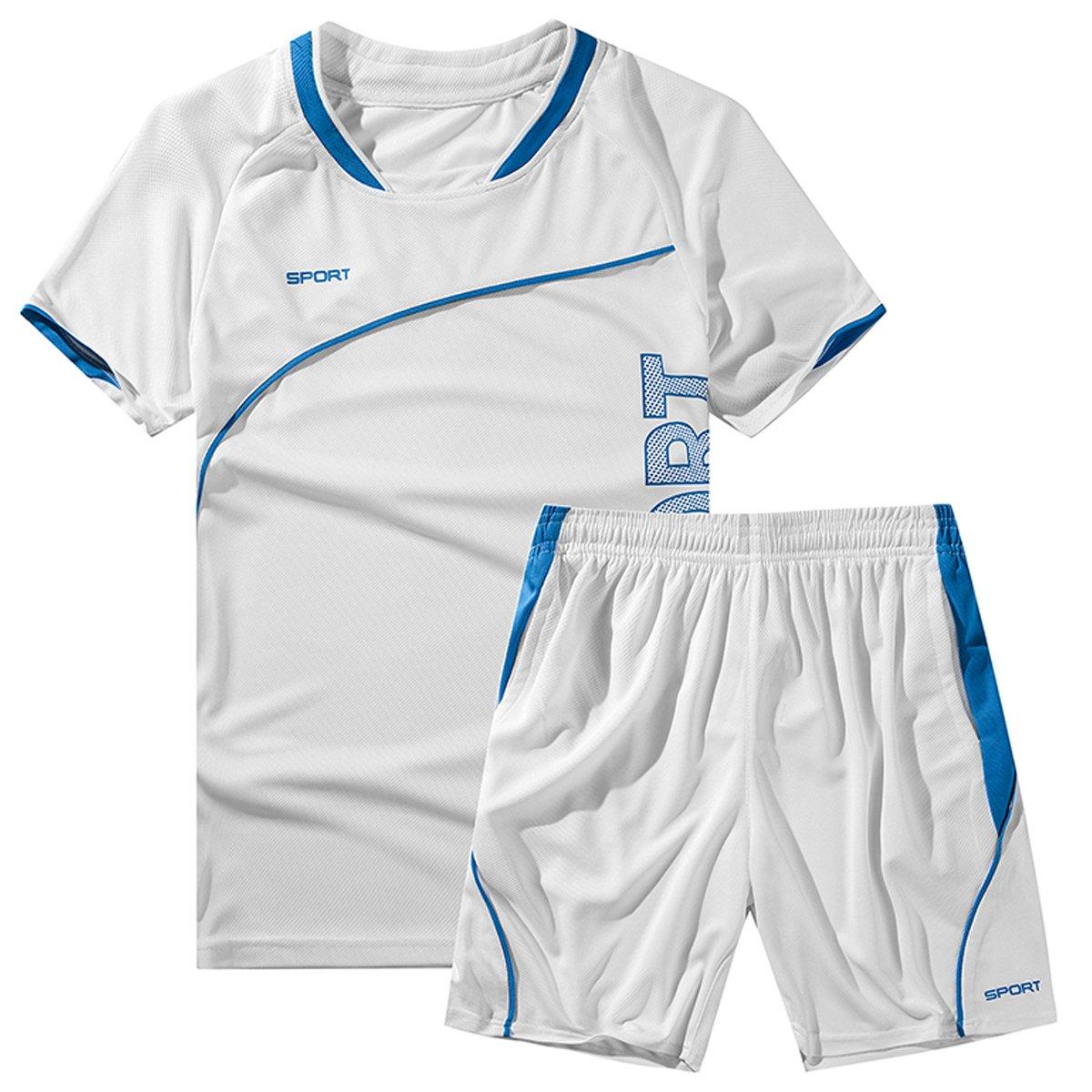 INVACHI Chándal para Hombre Camiseta de Fútbol Baloncesto Camiseta ...