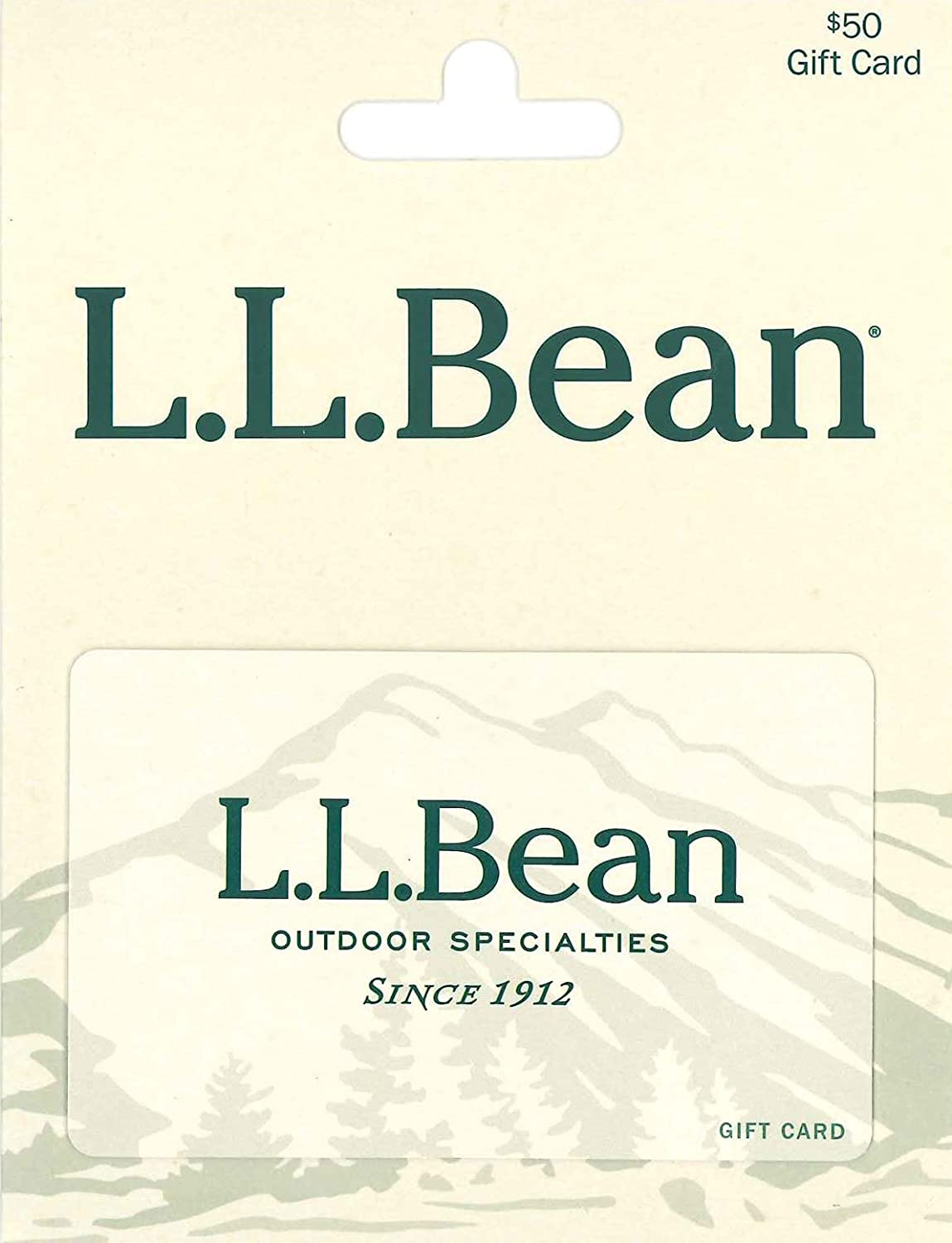 Amazon Ll Bean 50 Gift Cards