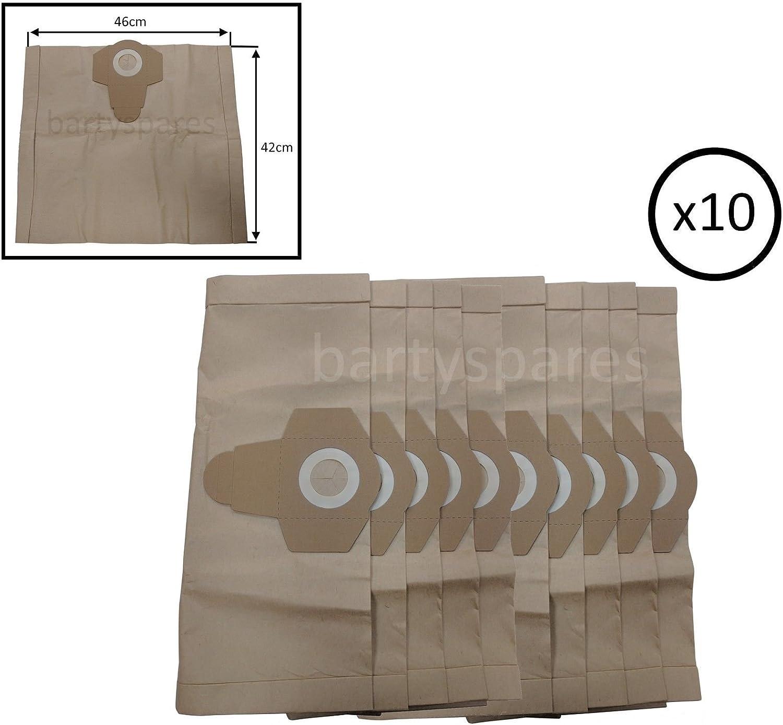 bartyspares® 10 x gran capacidad 30L bolsas de polvo para ...