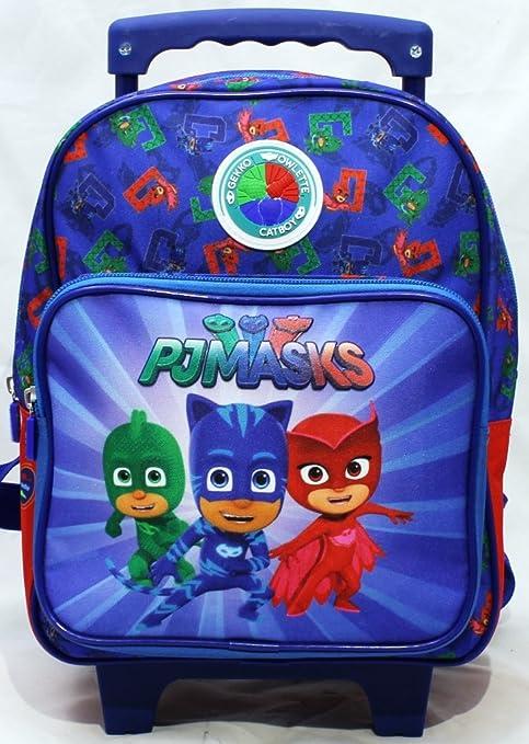 023d59faf4 PJ Masks Zainetto Trolley Scuola Asilo Super Pigiamini Gatto Boy Geko  GUFETTA