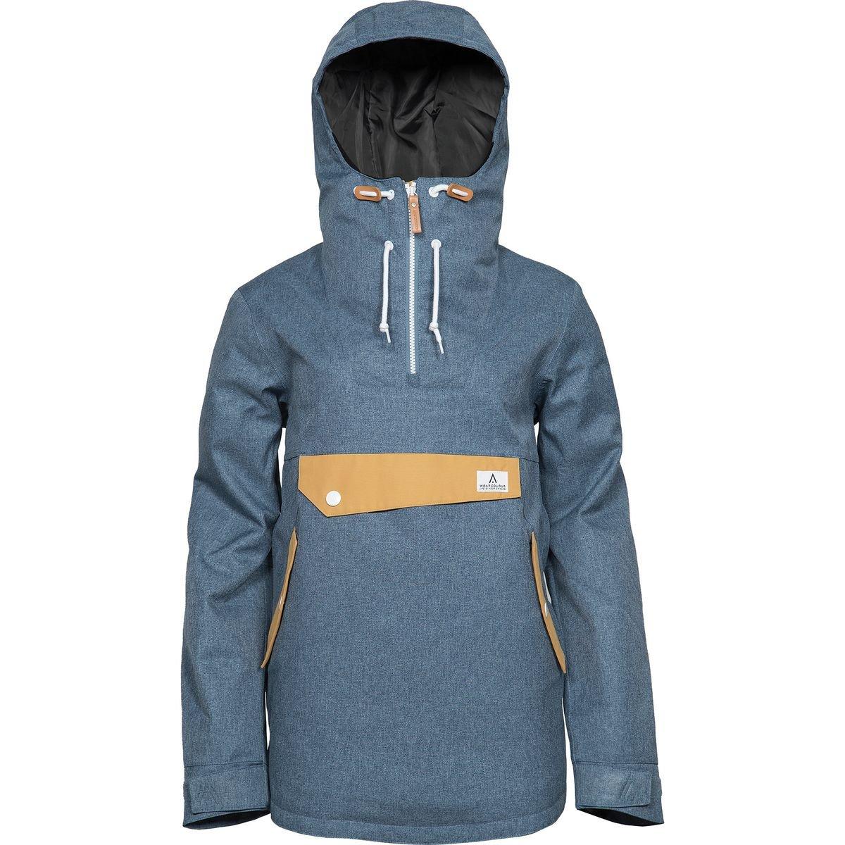 Wear Colour Recruit Anorak Jacket – Women 's B0772WJ3DG  デニムブルー Large