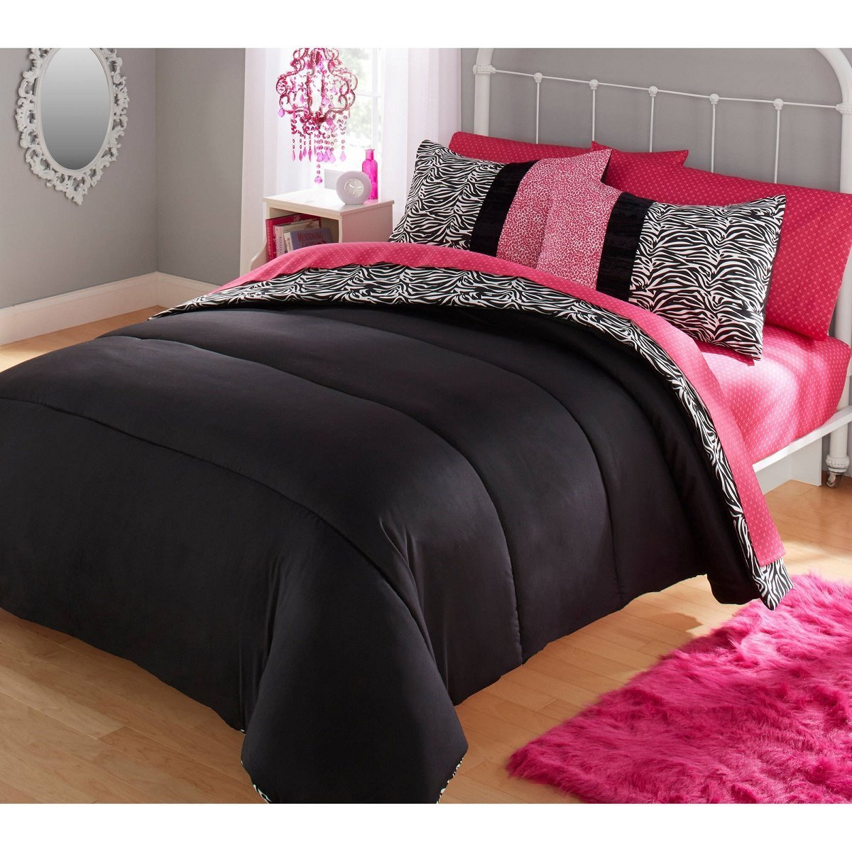 Your Zone TWO Piece Zebra Comforter Set by Your Zone (Image #2)
