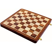 """14"""" Foldable Wooden Chess Board ONLY- Without Chess Pieces."""