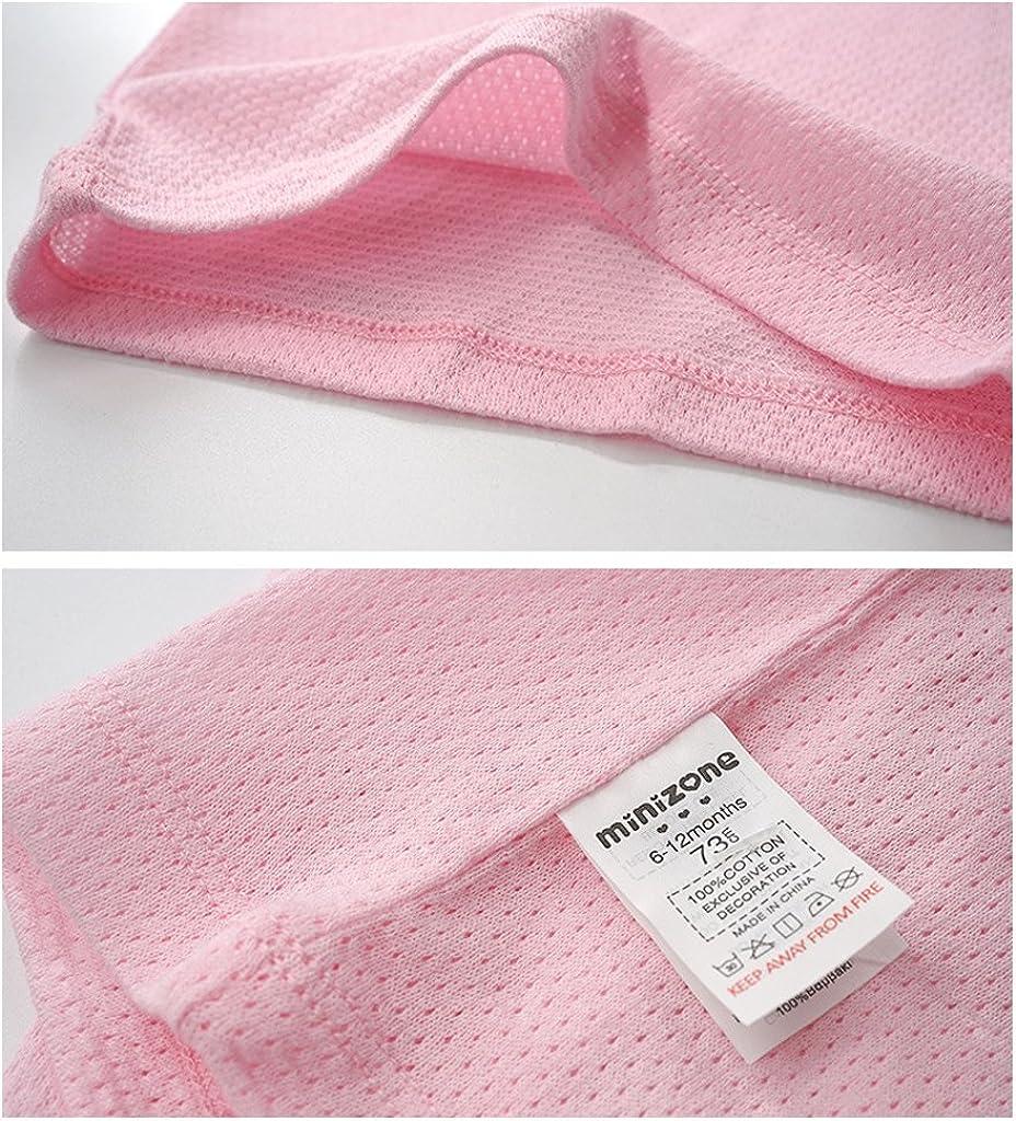 6 A/ños Camiseta Interior para Ni/ño Ni/ña Beb/é Paquete De 2 Camiseta sin Mangas Malla Chalecos 100/% Algod/ón 6 Meses
