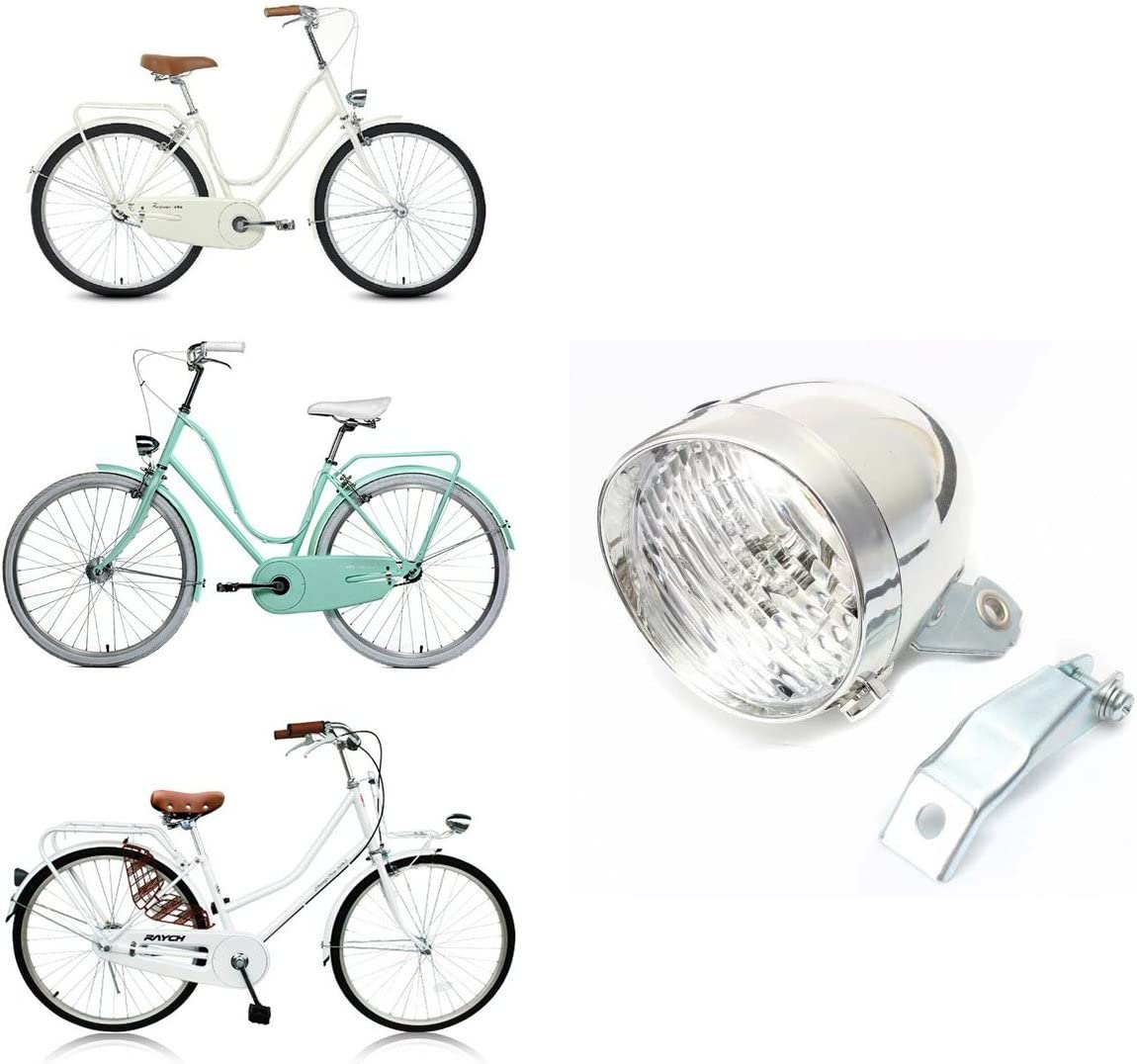 Bicycle LED Headlights Retro Front Lights Cycling Hiking Bike Riding Headlamps