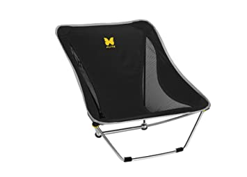 Amazoncom Alite Designs Mayfly Chair Black Camping Chairs