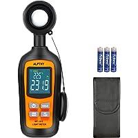 ALPTHY Light Meter Lux Meter Digital Illuminance Light Meter for Plants Handheld Ambient Temperature Measurer with Range…