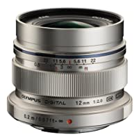 Olympus 奥林巴斯 M.ZUIKO DIGITAL ED 12mm F2.0 超广角定焦镜头(银色)