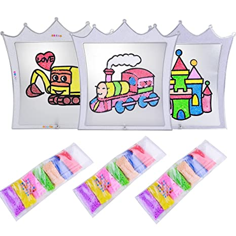 Amazon.com: AMTOP DIY Creative Painting Craft Toy for Kids, Non ...