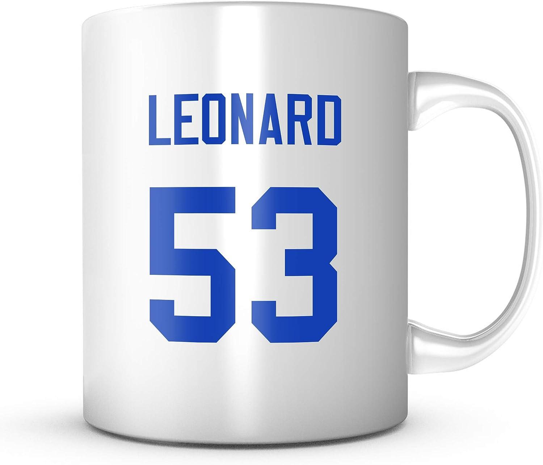 Darius Leonard Mug - Indianapolis Football Jersey Number Coffee Cup