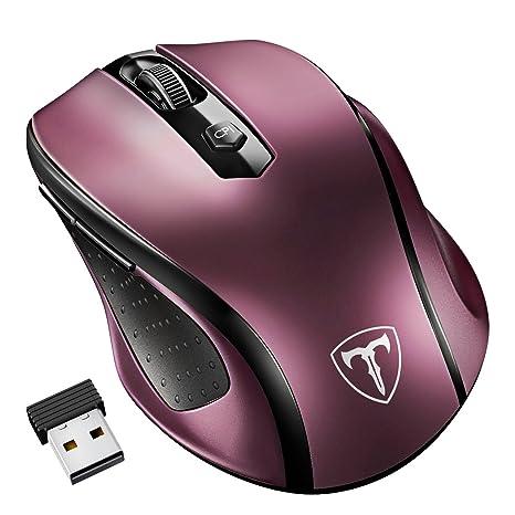 a12f336a1b3ad9 VicTsing Mouse?Wireless?2400DPI, Mouse?Senza?Fili?2.4G?con ...