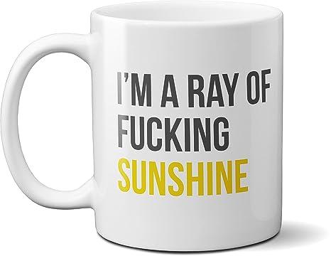 Amazon.com: I 'm un rayo de Fucking Sunshine café ...
