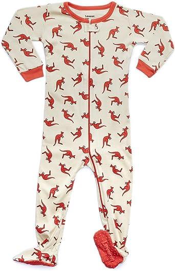 6 Months-5 Toddler Leveret Baby Boys Girls Footed Pajamas Sleeper 100/% Organic Cotton Kids /& Toddler Pjs Sleepwear