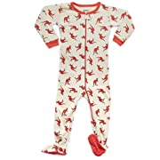 Leveret Kids Kangaroo Baby Boys Footed Pajamas Sleeper 100% Cotton (Size 6-12 Months)
