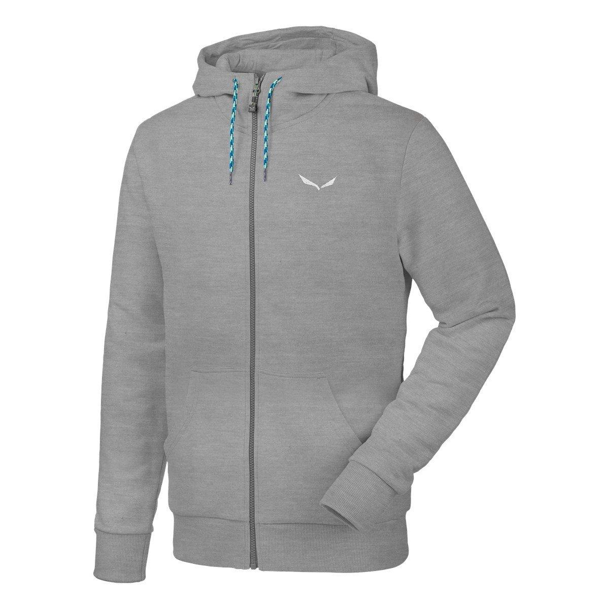 Salewa Solidlogo 2 Co M Fz HDY - Sweatshirt für Herren, Farbe Blau, Größe 46/S