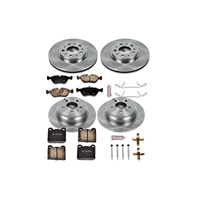 Autospecialty KOE2728 1-Click OE Replacement Brake Kit: Automotive